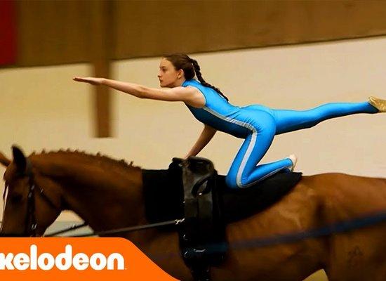 Voltigieren: Turnen am Pferd