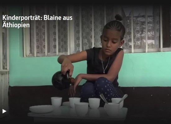 Blaine aus Äthiopien