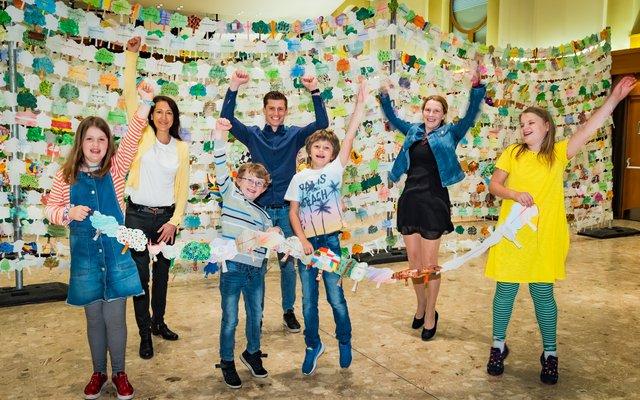 Die Volksschule Gratkorn 1 hat den Weltrekord geschafft!